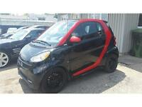 2013 Smart fortwo Shark Red avec Cuir!