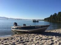 16ft Lund WC with 25HP Mercury Motor      Watch     |     Share