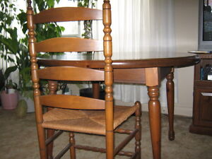 Dining room table, chairs and buffet London Ontario image 4