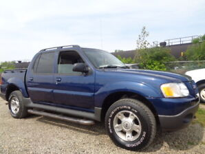 2004 Ford Explorer Sport Trac XLT-SUROOF-4X4-ONE OWNER-ONLY 158K