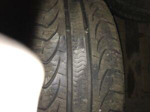 mags  rtx  poisson   15 pouces  avec pneu 205/60r15 pirelli