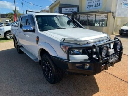 2010 Ford Ranger PK XLT (4x4) White 5 Speed Automatic Dual Cab Pick-up Port Macquarie Port Macquarie City Preview