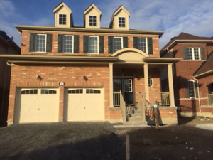 Brand new 4 Br 3 Washroom, 2 garage detached house for rent