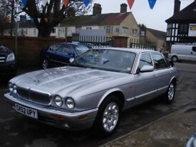 Jaguar V8 XJ SERIES 3.2 Petrol Automatic, 2002 model, Full MOT, Full Leather