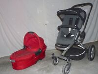 Quinny Pushchair and Cot