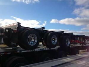 2017 Deloupe Tri axle Taper frame Log Trailer