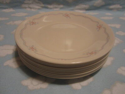 CORELLE/CORNING=ENGLISH BREAKFAST BREAD & BUTTER PLATES=10 TO GO ONE PRICE !!