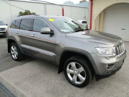 2011 Jeep Grand Cherokee WK Overland (4x4) Mineral Grey 5 Speed Automatic Wagon