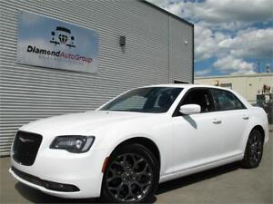 2017 CHRYSLER 300 300S AWD HEATED LEATHER SEATS, BACK-UP CAMERA