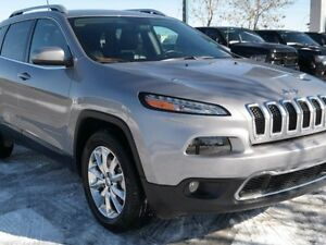 """2016 Jeep Cherokee Limited**4x4*\""""Leather Seats**Power Heated Fr"""