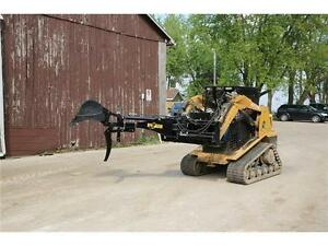 NEW HEAVY DUTY SKID STEER HLA BACKHOE BIG ARM ATTACHMENT