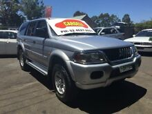 2003 Mitsubishi Challenger PA-MY04 (4x4) Silver 4 Speed Automatic 4x4 Wagon Campbelltown Campbelltown Area Preview