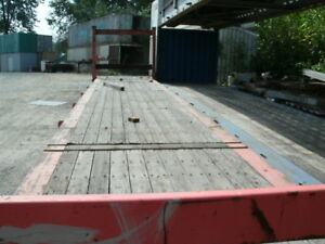 Flat Rack / Steel Container Bridge 20' & 40 ft