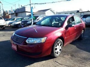 2005 Saturn Ion Midlevel,,LOW KMS!!,certified