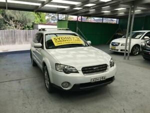 2006 Subaru Outback B4A MY06 Touring White Sports Automatic Wagon Croydon Burwood Area Preview