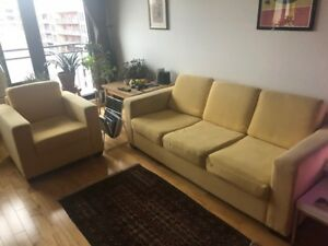 Sofa 3 places + Fauteuil