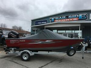 2017 Crestliner 1650 Super Hawk, 90 Merc, loaded, now $34999