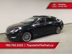 2014 Lincoln MKZ 3.7L, PANORAMIC SUNROOF, RADAR CRUISE, LEATHER,