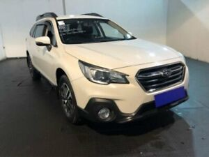 2018 Subaru Outback B6A MY18 2.0D CVT AWD Crystal White Pearl Constant Variable Wagon Belmore Canterbury Area Preview