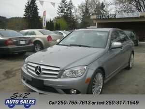 2008 Mercedes Benz C230 4matic 47000 KM! LIKE NEW!