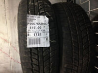 SET OF 4X 195/60/15 SNOWTRACKER & ARCTIC GLAW WINTER Tires in E