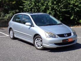 2005(05) Honda Civic 1.6i VTEC Executive TOP SPEC***3 MONTHS WARRANTY*** FSH