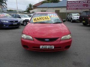 1998 Ford Laser KJIIL GLXi Red 5 Speed Manual Hatchback