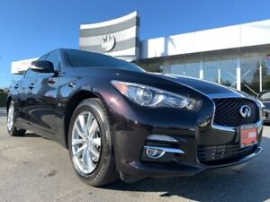 2016 Infiniti Q50 2.0T AWD NAVI REAR CAMERA SUNROOF ONLY 37KM