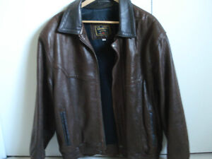 Brown Leather Jacket, sixe XL West Island Greater Montréal image 1