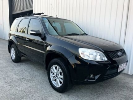 2010 Ford Escape ZD MY10 Black 4 Speed Automatic Wagon