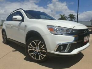2018 Mitsubishi ASX XC MY18 LS 2WD White 6 Speed Constant Variable Wagon Garbutt Townsville City Preview