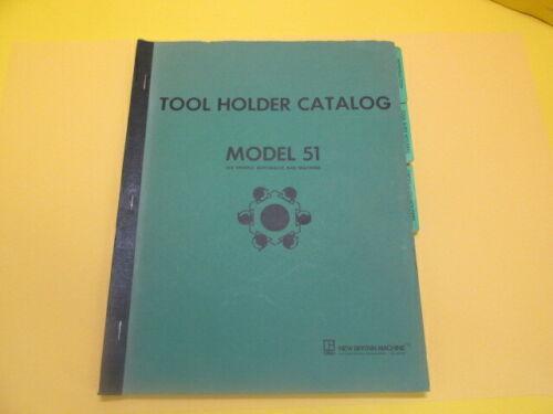 New Britain Tool Holder Catalog Model 51