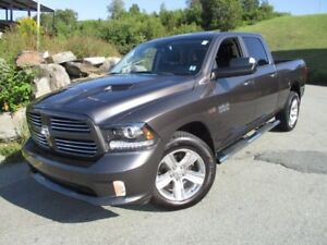 2014 RAM 1500 Sport HEMI (6FT 4IN BOX, NAVIGATION, HEATED/COOLED