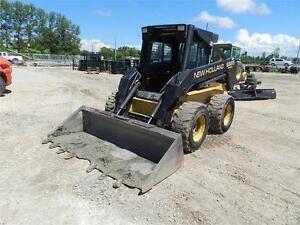 NEW HOLLAND LX885 TURBO SKID STEER 4217.9 HRS