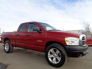 2008 Dodge Power Ram 1500 SPORT--QUAD CAB--4X4-AMAZING SHAPE