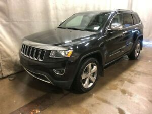 2014 Jeep Grand Cherokee Limited - Heated Leather+Wheel, Sunroof