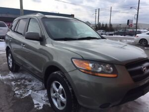 2008 Santa fe 2.7L ,Clean,touch screenAux,Loaded,Certified
