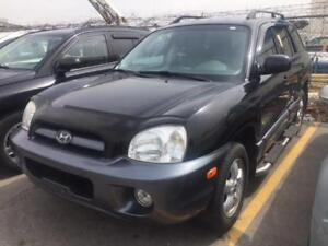 2005 HYUNDAI SANTA FE GL AWD ACCIDENT FREE/ LOW KMS FOR YEAR!