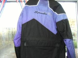 Spada motorcycle jacket,with approved armour.