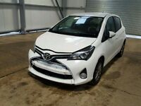 TOYOTA YARIS 2016 BREAKING FOR SPARES TEL 07814971951 HAVE FEW IN STOCK