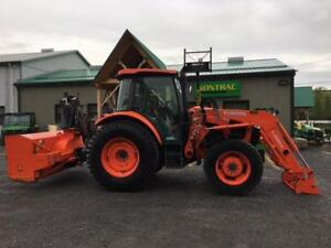 2016 KUBOTA M5-111  TRACTOR LOADER SNOWBLOWER