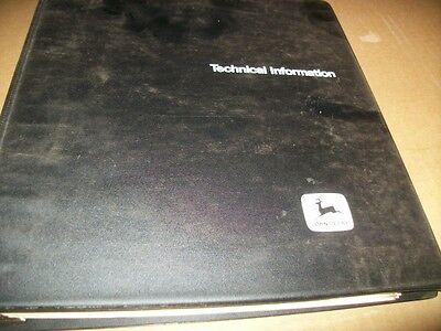 John Deere 46ev Chainsaw Technical Manual Bindervintage Chainsaw