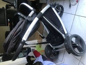 High end Phil & Teds stroller with 2nd seat option double stroll