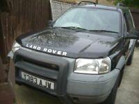 Land Rover FREELANDER - BLACK - CLACTON ON SEA = CO15 6AJ LAND ROVER