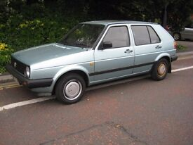 Classic Volkswagen Golf Mk2, MOT 25 June 2018 (no advisories). Ex Driving Car. Ready to drive away.