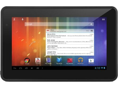 "Ematic EGS004-BL 512MB Memory 4GB 7.0"" Touchscreen Tablet Android 4.1 (Jelly Bea"