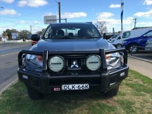 2016 Mitsubishi Triton MQ MY17 GLX (4x4) Grey 6 Speed Manual Dual C/Chas