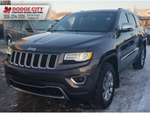 2015 Jeep Grand Cherokee Limited 4X4 | Htd.Leather, SRoof, Nav
