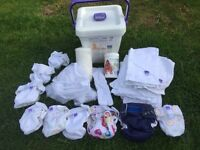 ECO BABY MIO RE-USABLE NAPPIES & BUCKET