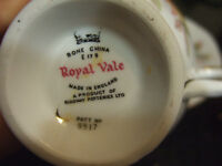 vintage Royal Vale Country  Tea Cup and Saucer